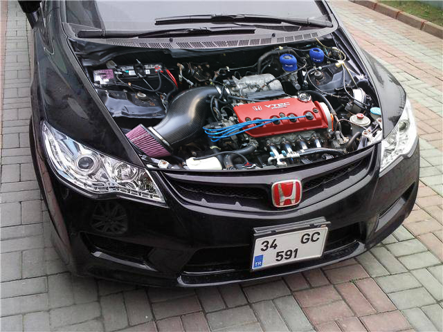 "3d sticker ""Engine"""