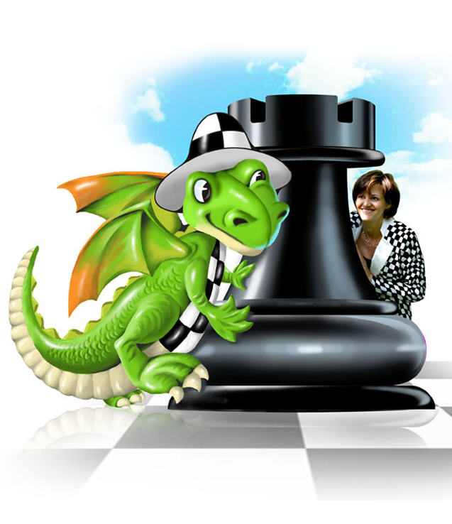 Illustration for the site about chess